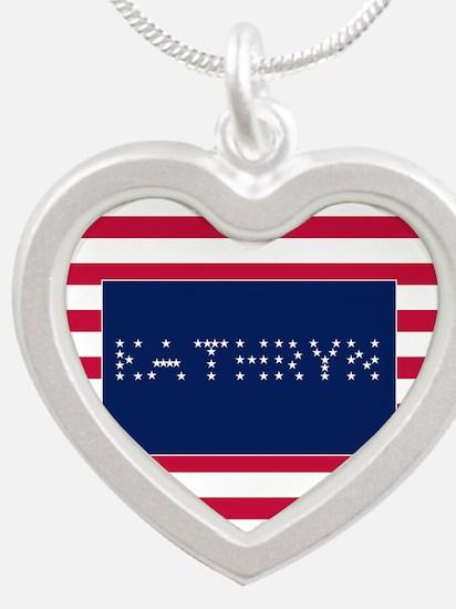KATHRYN Silver Heart Necklace