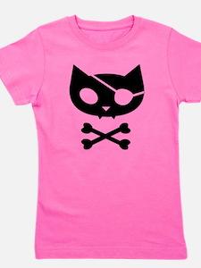 Pirate Kitty Girl's Tee