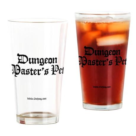 DM's Pet - Drinking Glass