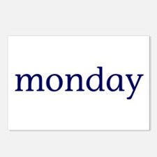 Monday Postcards (Package of 8)
