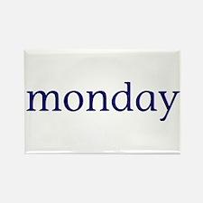 Monday Rectangle Magnet
