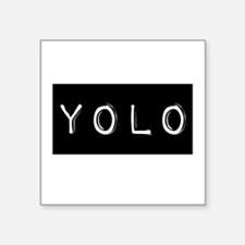 YOLO (You Only Live Once) Sticker
