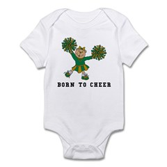 Born To Cheer Infant Bodysuit