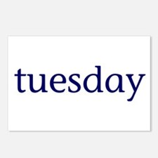 Tuesday Postcards (Package of 8)