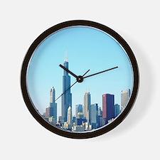 Chicago Cityscape Wall Clock