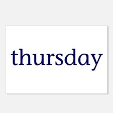 Thursday Postcards (Package of 8)
