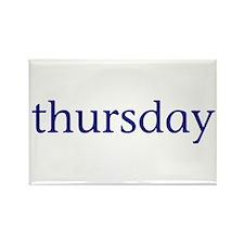 Thursday Rectangle Magnet