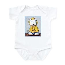 Rainy Day Westie Infant Bodysuit