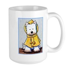 Rainy Day Westie Mug