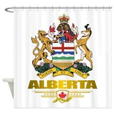 Alberta COA Shower Curtain