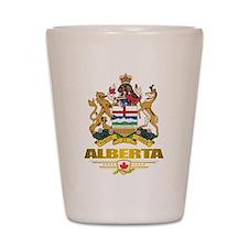 Alberta COA Shot Glass