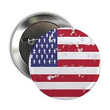 """Vintage American Flag Ipad Sleeve 2.25"""" Button"""