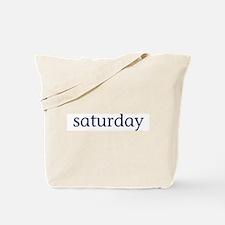 Saturday Tote Bag