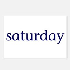 Saturday Postcards (Package of 8)