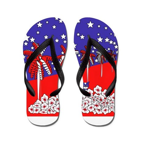 Independence Bliss Flip Flops