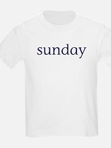 Sunday Kids T-Shirt