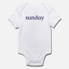Sunday Infant Bodysuit