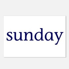 Sunday Postcards (Package of 8)
