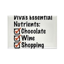 Diva's Essential Nutrients Rectangle Magnet