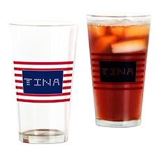 TINA Drinking Glass