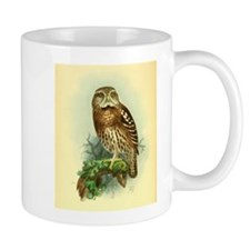 Owl on a branch Mug