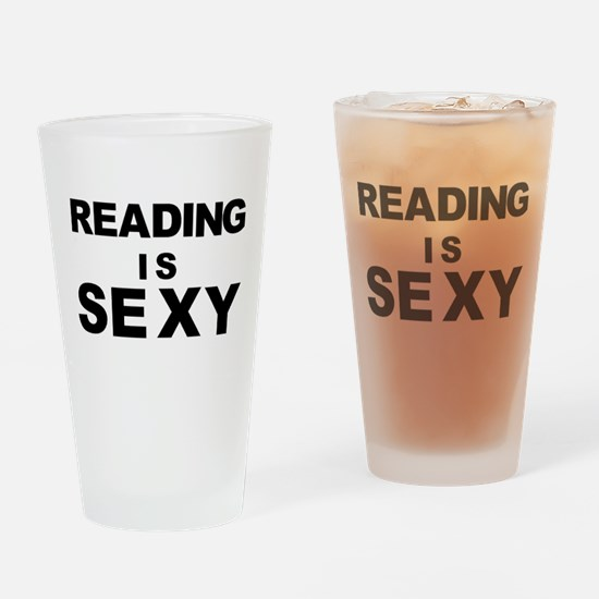 Reading is Sexy Drinking Glass