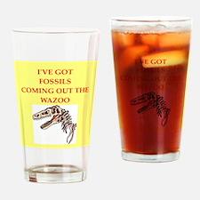 paleontology Drinking Glass