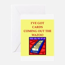 sports cards Greeting Card