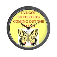 butterfly Wall Clock