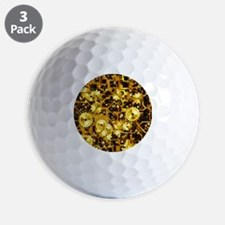 SteamClockwork-Brass Golf Ball