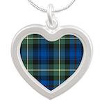 Tartan - Baillie Silver Heart Necklace