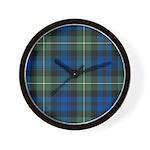 Tartan - Baillie Wall Clock