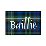 Tartan - Baillie Rectangle Magnet (100 pack)