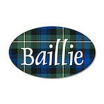 Tartan - Baillie 20x12 Oval Wall Decal