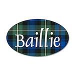 Tartan - Baillie 35x21 Oval Wall Decal
