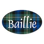 Tartan - Baillie Sticker (Oval 10 pk)