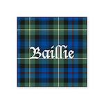 Tartan - Baillie Square Sticker 3