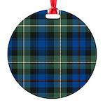 Tartan - Baillie Round Ornament