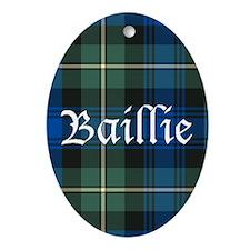 Tartan - Baillie Ornament (Oval)