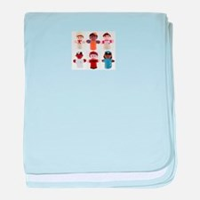 puppets baby blanket