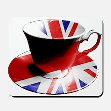 Union Jack Cup of Tea Mousepad