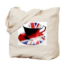 Union Jack Cup of Tea Tote Bag