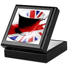 Union Jack Cup of Tea Keepsake Box