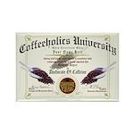 Coffeeholics Diploma Rectangle Magnet