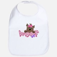 Scottish Terrier Pink Bib