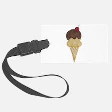 Cute Sweet Ice Cream Cone Luggage Tag