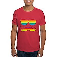 Rainbow Funny Face T-Shirt