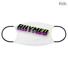 Rainbow Funny Face Rectangular Cocktail Plate