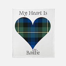 Heart - Baillie Throw Blanket