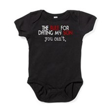 Rule For Dating My Son Baby Bodysuit